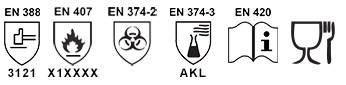 Kimyasal Eldiven / E-540 Standartlar