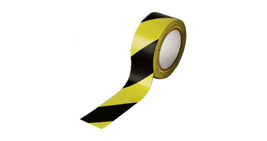 Marking Tape Yellow  Black