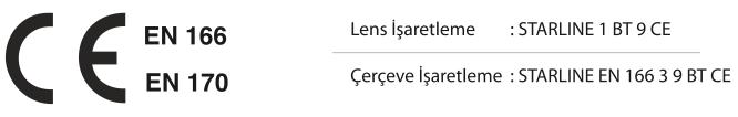 Tam Koruma Gözlüğü / G-031A-C Standartlar