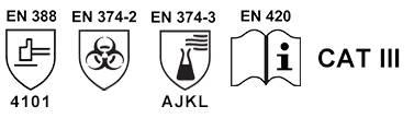 Kimyasal Eldiven / STL-1513 Standartlar